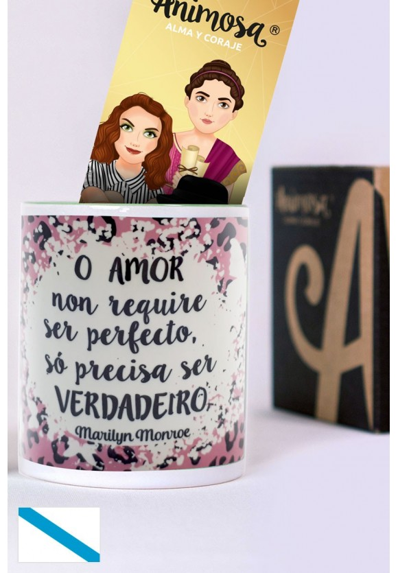 Taza gallego Marilyn Amor