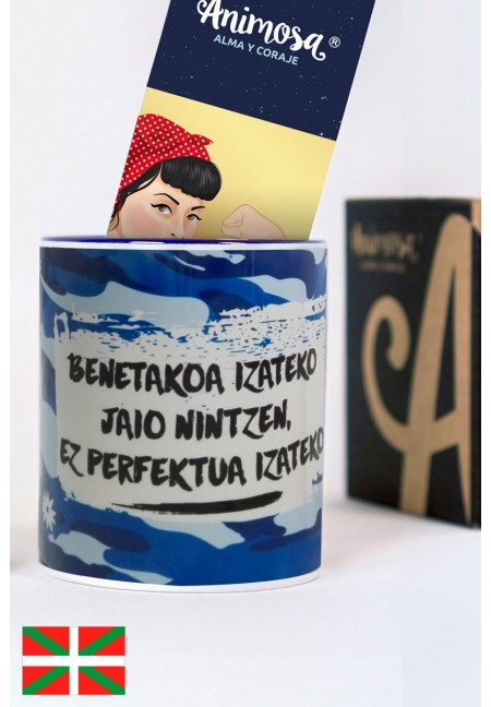 Taza Real no perfecta en euskera