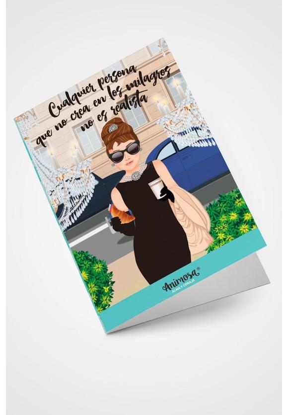 Tarjeta Audrey Primera versión