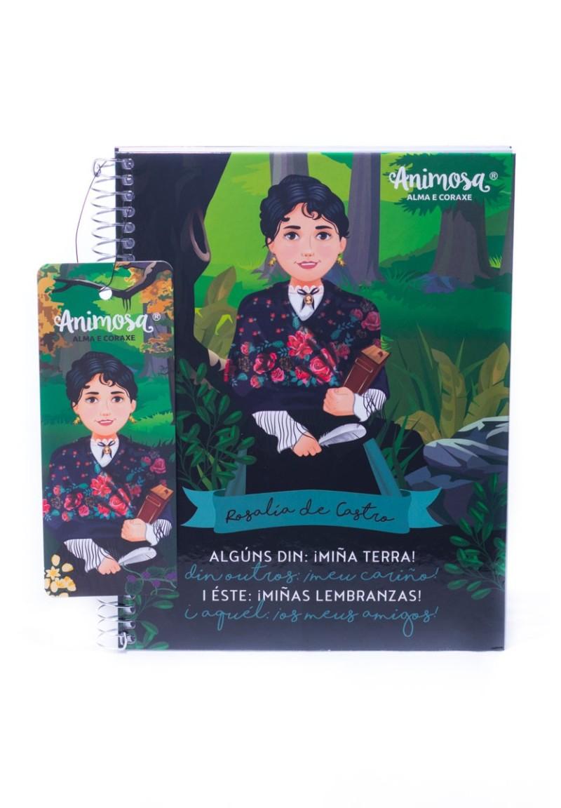 Caderno A5 G Rosalía Meu Cariño