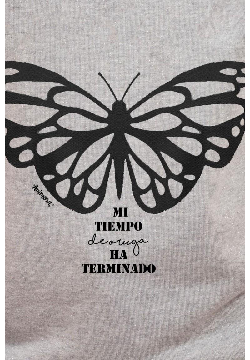 Sudadera lúrex Mariposa