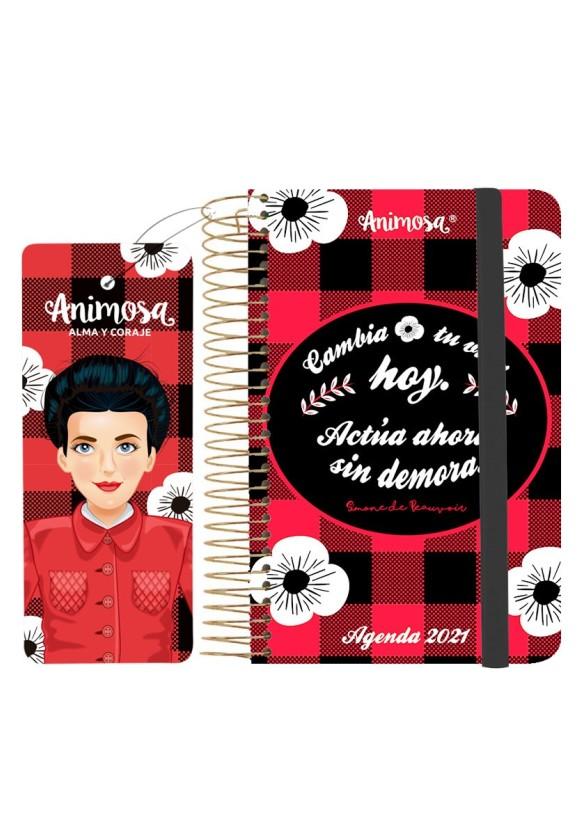 Agenda anual 2021 A6 Simone Hoy