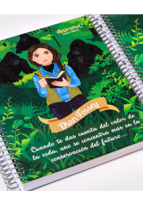 Libreta A5 Dian Fossey