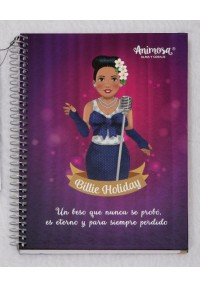 Libreta A5 Billie Holiday
