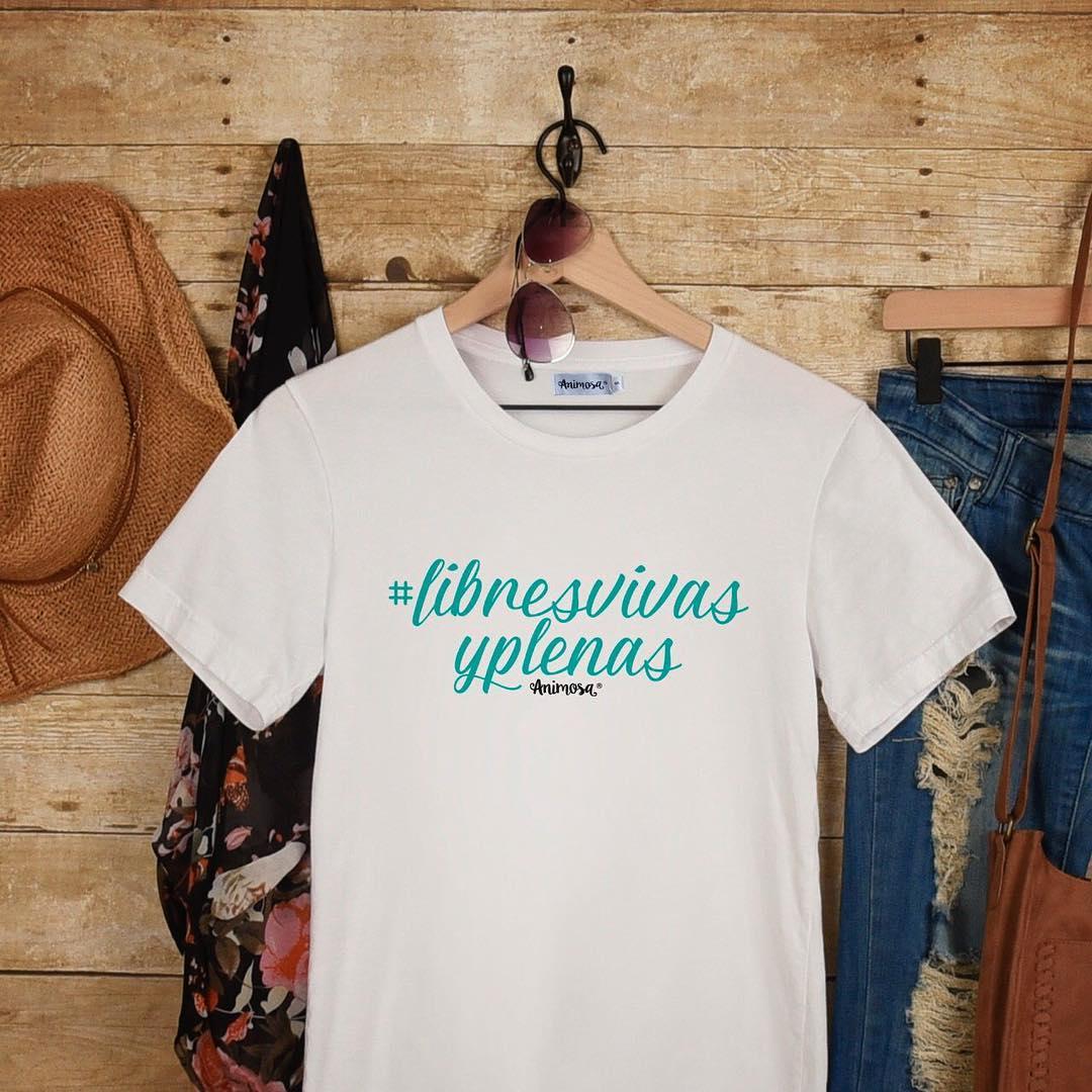 Camisetas Libres, vivas y plenas a la venta para celebrar el Día de la Mujer