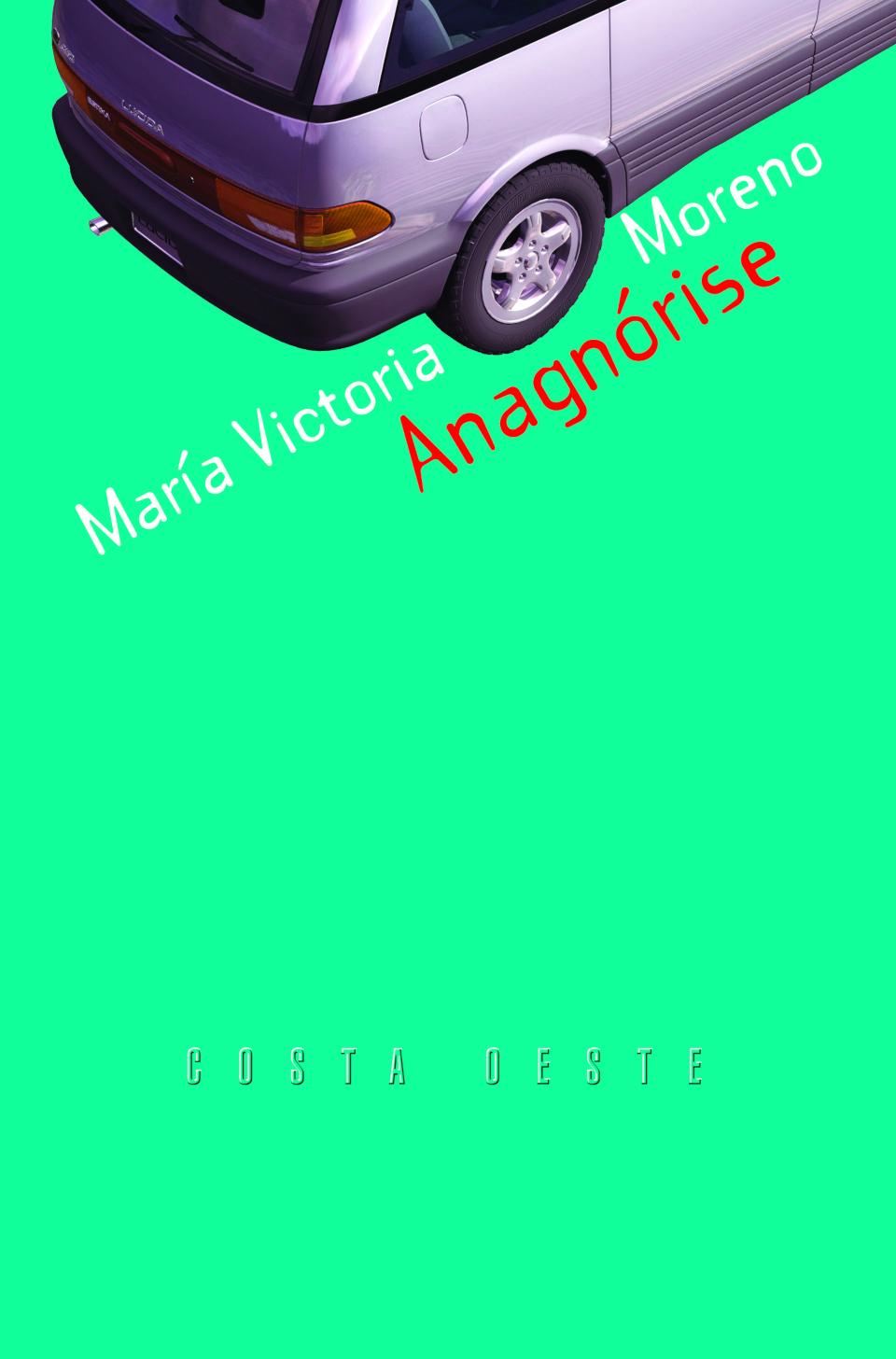 Escritoras galegas: Anagnórise, María Victoria Moreno