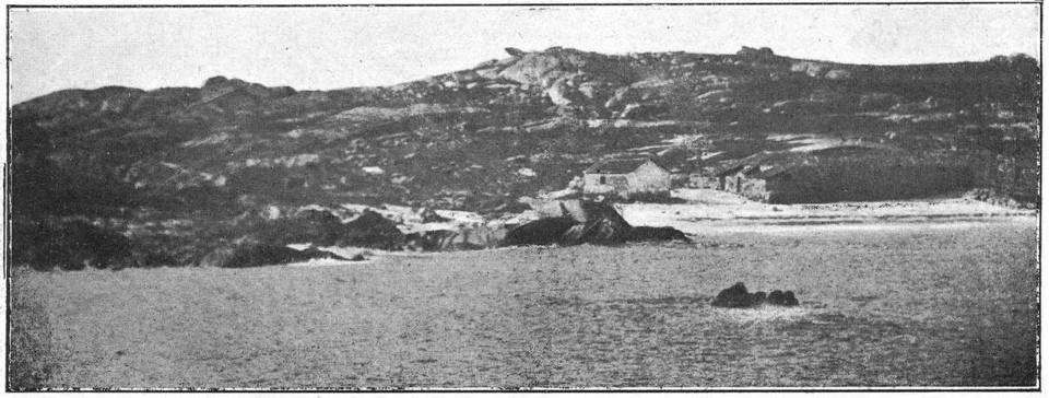 La isla de Sálvora, en la época del naufragio del Santa Isabel