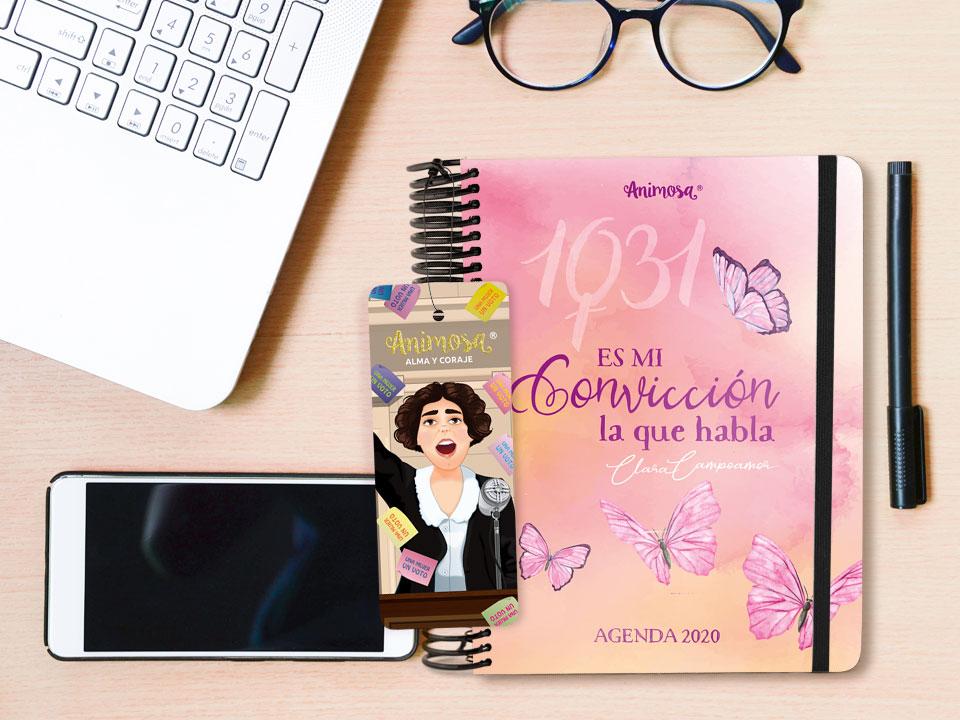 Agenda anual Animosa de Clara Campoamor
