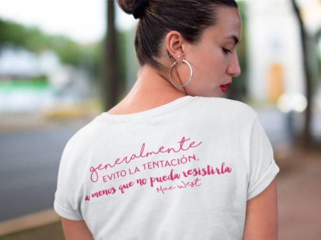 Camiseta Mae West Animosa