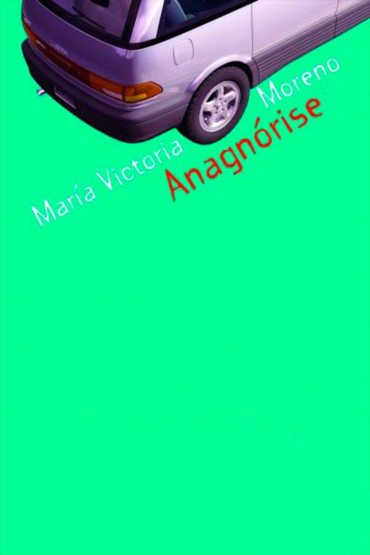 Portada de la novela «Anagnórise», de María Victoria Moreno