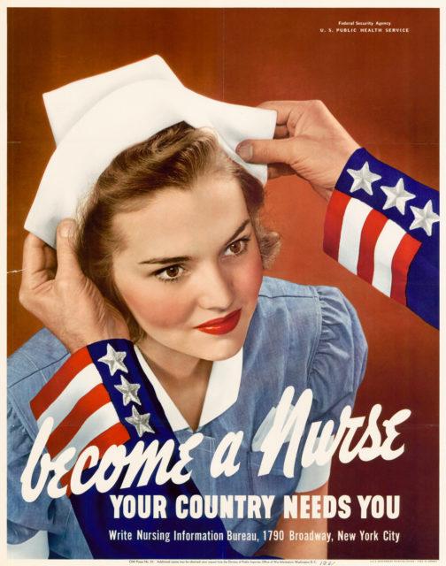 Enfermeras en guerra
