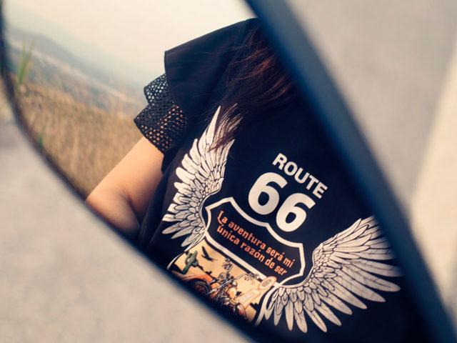 Camiseta Alexandra Ruta 66