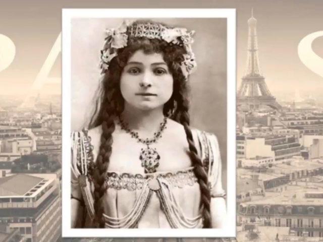 Retrato de Alexandra David-Néel de joven